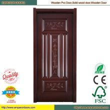 Wood Door Skin PVC Wooden Door Interior Door