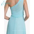 Summer New Design Elegant Pleat Bridesmaid Dresses Chiffon