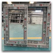Fabricado na China, portas interiores de PVC, telas anti-mosquitos, janela de vidro deslizante