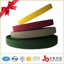 China custom colorful polyester knit elastic bands