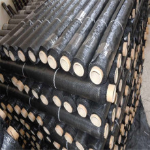Black Heavy Duty Dot Silt Fence