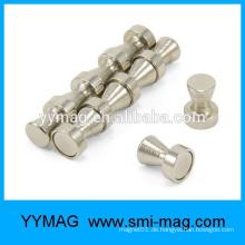Heißer Verkauf Kundenspezifischer Seltenerd Neodym starker Stahl magnetischer Stoßstift