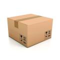 Доставка дешевой коричневой гофрированной крафт-коробки