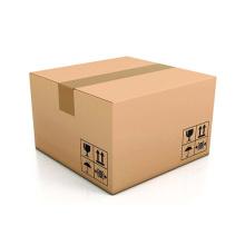 Envio barato caixa de papelão ondulado marrom