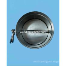 Aço inoxidável redonda amortecedor de ar