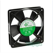 Flujo de aire máximo enfriamiento ventilador de rodamiento de bolas 120mm 120X120X25.5mm AC