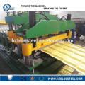 Гидравлическая алюминиевая профильная плитка Холодная формовочная машина, строгальная машина для плитки для крыши