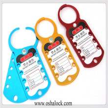 Eight-Hole Aluminum Lockout Hasp