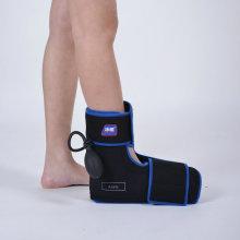 Envoltório de terapia de compressão a frio no tornozelo com bomba de ar