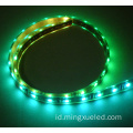 Strip LED 30leds / M 5050 SMD Magic Pixel Strip Lampu LED APA102 SK9822