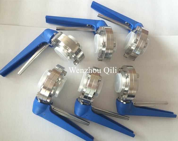 weld butterfly valve