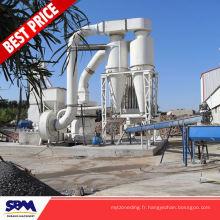 Gypse, l'application de kaolin sodium feldspath potassique moulin pour le Vietnam
