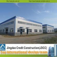 Entrepôt de structure en acier préfabriqué assemblé