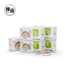 Convenient freeze-dried okra freeze-dried instant soup