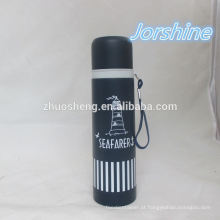 2015 high quality 12oz printed, popular vacuum flask made in china