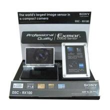 Caja de exhibición de acrílico de la alta calidad para la cámara