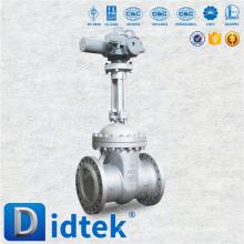 Didtek Cast Steel Rising Stem Flanged Motorized Gate Valve