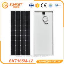 Painel Solar Monocristalino TUV de Alta Eficiência 165w