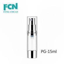 Airless pump bottle 30ml 50ml plastic bottle transparent cosmetic