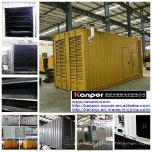 Genset of 670kVA 700kVA Container Type Volvo Diesel Silent Generator