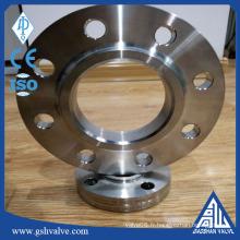 RF ANSI en acier inoxydable glisse sur (si) bride avec haute qualité