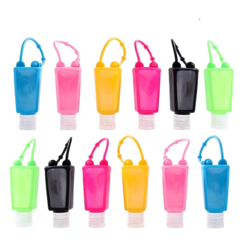 Suporte para higienizador de mãos de silicone sem BPA