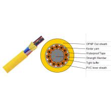 Câble optique à fibre optique intérieur intégral de 144 fils