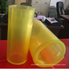 Yellow Color PU Polyurethane Sheet / Roll