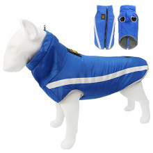 New outdoor fabric dog coat clothes clothing winter dog clothes for europe
