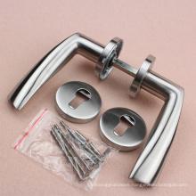 Entry Door Exterior Handles cast stainless steel 304 door handle