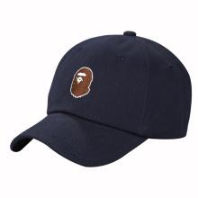 Boné de beisebol quente dos painéis da venda seis com bordado pequeno do logotipo