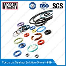 Resistentes à alta temperatura coloridos NBR / FKM / EPDM / Purubber O-Rings
