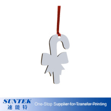 Best Souvenir Gift China Wholesale HD Wood Christmas Decoration Double Side Printing Christmas Hanging Ornaments Home Decor
