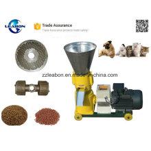 Máquina de pellets de alimentación plana para animales y mascotas utilizados en granjas o familias