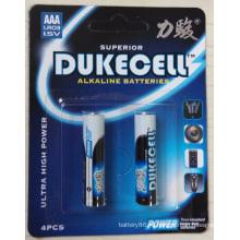 0% ртути щелочные сухие батареи AAA