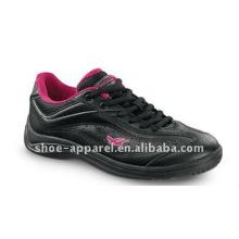 zapatos cómodos ocasionales negros de las mujeres