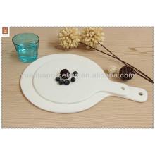 China grossista 12 '' placas de cerâmica de massa de pizza