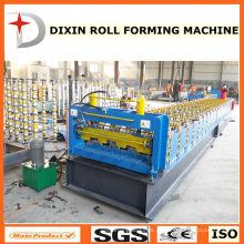 A plataforma de assoalho galvanizada automática completa da folha lamina a formação da máquina