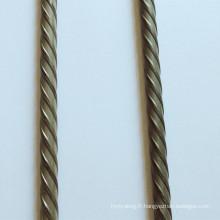 Fil d'acier en béton précontraint à haute teneur en carbone 4,8 mm 7 mm