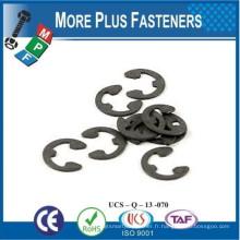 Fabriqué au Taiwan Retainer E Clip