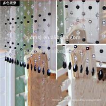 горячая продажа смешанные цвета кристалл бусины занавес висит кристалл для украшения дома экологичный