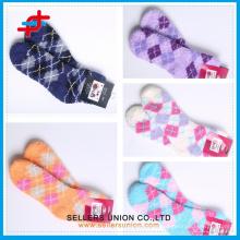 Children Microfiber Polyester Socks With Terry Toweling/Microfiber Socks China /Custom Made Towel Socks