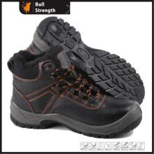 Unité centrale Injection hiver cheville chaussure de sécurité avec embout d'acier (SN5307)