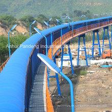 Fördersystem / Pipe Conveyor / Dg Typ Pipe Belt Conveyor