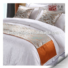 High Quality Factory Wholesale Decoration Hotel Bed Runner and Cushion
