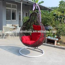 Новый сад стул качания ротанга
