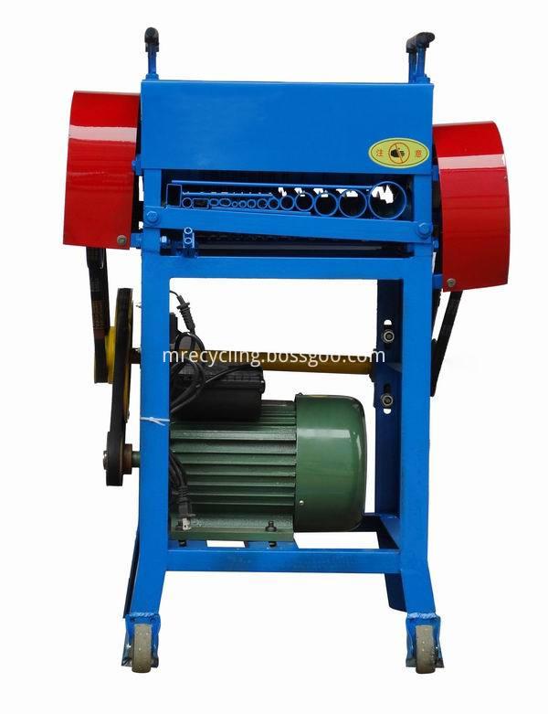 copper stripper machine