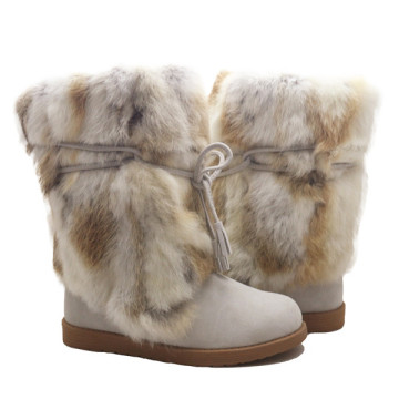 Winter Warm Sheepskin Boots
