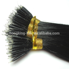 high quality nano ring hair extension remy virgin human hair extensions