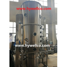 Chinese Herb Medicine Powder Fluid Bed Dryer